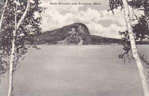 Maine Rockwood the Kineo Mountain From Rockwood Albertype