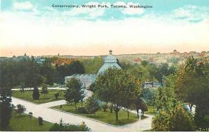D/B Conservatory Wright Park Tacoma Washington WA