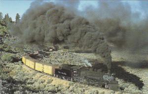 Rio Grande Western Railway K-36 Class Mikado 2-8-2 Locomotive Number 487
