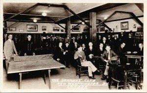 Seamen's Club New Westminster BC Unused Real Photo Postcard E73