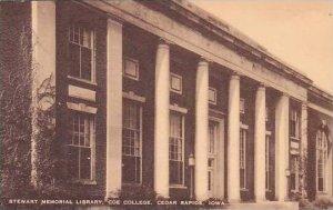 Iowa Cedar Rapids Coe College Stewart Memorial Library Artvue