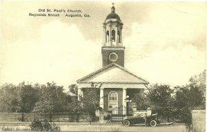AUGUSTA , Georgia , 00-10s ; Old St Paul's Church