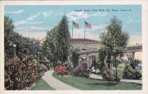 Indiana La Porte Lovers Lane Fox Park