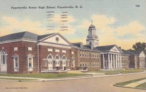 Fayetteville Senior High School, FAYETTEVILLE, North Carolina, PU-1945