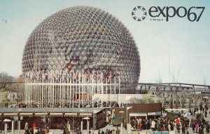 MONTREAL , Quebec , Canada , expo67 : Pavillion of the United States