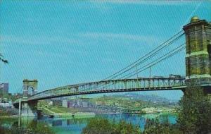 Ohio Cincinnati Suspension Bridge