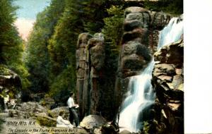 NH - Franconia Notch. The Cascade in the Flume