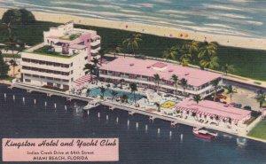 MIAMI BEACH , Florida , 1930-40s ; Kingston Hotel & Yacht Club