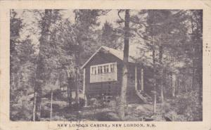 NEW LONDON, New Hampshire; New London Cabins, 30-40s