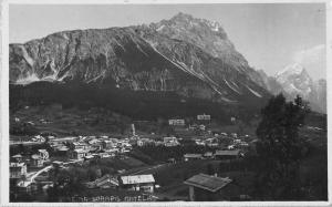 Cortina Italy Scenic View Real Photo Antique Postcard J39871