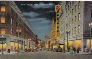 Washington Seattle Fifth Avenue From University Street