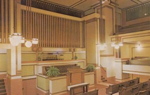 Oak Park, Illinois, 1950-1960s ; Auditorium of Unity Temple