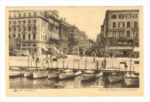 Quai Des Belges Et La Canebiere, Marseille (Bouches-du-Rhône), France, 1900-...