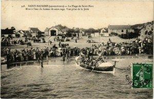 CPA ST-NAZAIRE Plage de St-Marc (864371)