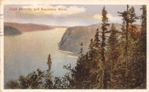 Canada Cape Eternity and Saguenay River