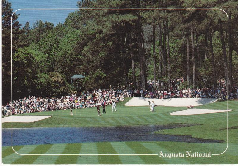 Post Card  United States Georgia Golf Augusta The Augusta National Golf Club