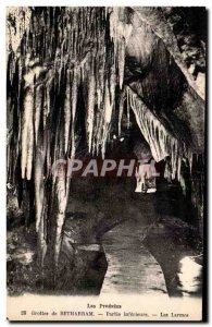 Old Postcard Caves Betharram lower part Tears