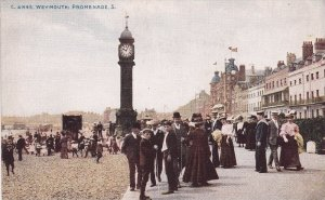 WEYMOUTH, Dorset, England, United Kingdom; Promenade, Clock Tower, 1900-10s