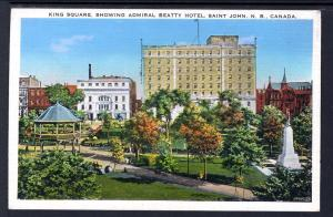 King Square,Admiral Beatty Hotel,Saint John,NB,Canada