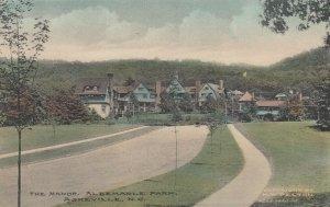 ASHEVILLE , North Carolina , 1900-10s ; The Manor , Albemarle Park