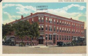 COLUMBUS, Nebraska, PU-1938 ; Hotel Thurston
