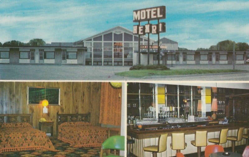 NORANDA , Quebec , 1950-60s ; Motel Henri