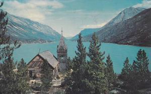 Church, Lake Bennett, W.P. & Y. R., Canada, 1940-1960s