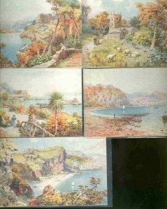 pc735 postcard UK Torquay Tuck Oilette MOBSC FIVE