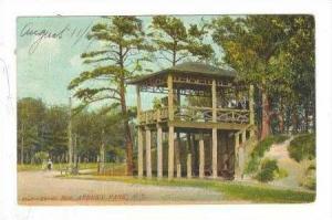 Crow's Nest, Asbury Park , New Jersey, PU-1907