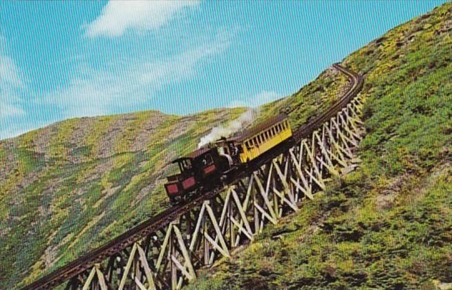 New Hampshire Mt Washington Famous Cog Railway