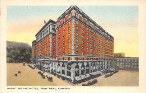 Montreal  Mount Royal Hotel