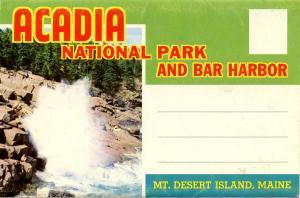 Folder - Acadia National Park and Bar Harbor, ME -   (12 Views + Covers)