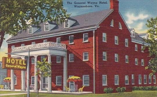 Virginia Waynesboro The General Wayne Hotel