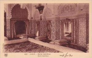 Morocco Rabat A Rich interior 1920s-30s
