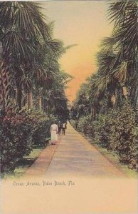 Florida Palm Beach Ocean Avenue Rotograph