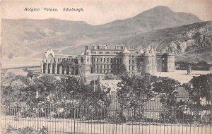 Holyrood Palace Edinburgh Scotland, UK Unused