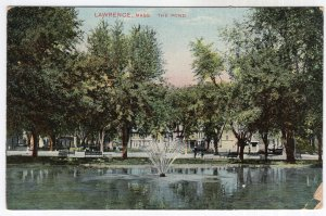 Lawrence, Mass, The Pond