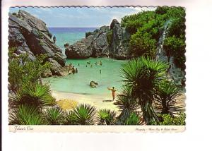 Beach at Jobson's Cove, People Swimming  Bermuda, Photo Martin Ray & Ronald S...