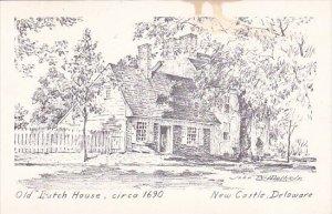 Old Dutch House Circa 1690 New Castle Delaware