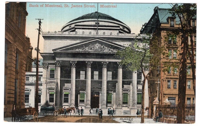 Montreal, Bank of Montreal, St. James Street