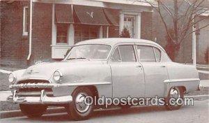 1953 Plymouth Cranbrook 4 Door Sedan Auto, Car Unused