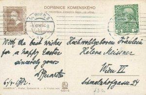 A. Frolka signed Czech Republic folk & traditions postcard