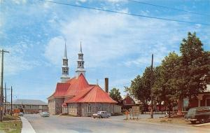 Port Joli Quebec Canada~Eglise/Church of St John Catholic 1950s