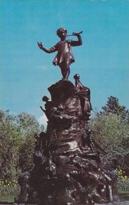 Peter Pan in Bowring Park, St. John's Newfoundland, Canada,  40-60s