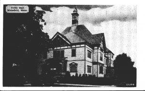 Massachusetts Mansfield Town Hall Dexter Press