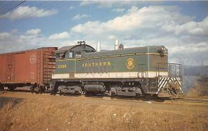 Southern 2255, General Motors EMD Model NW2 Diesel Switcher in shown nea...
