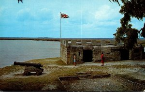 Georgia St Simons Island Fort Frederica