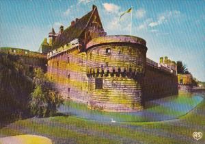 France Nantes Metropole de l'Ouest Chateau des Ducs de Bretagne Tour du Port