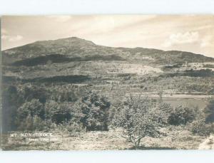 Pre-1949 rppc NICE VIEW Troy - Near Keene New Hampshire NH i9615