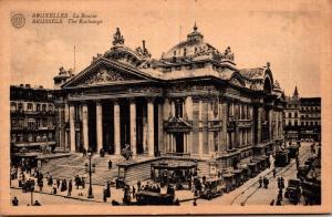 Belgium Brussells La Bourse 1921
